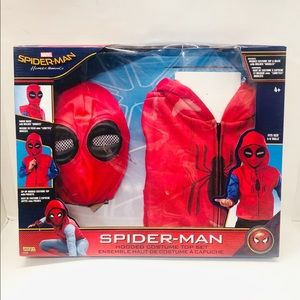 Spider-man boys costume top set size 4-6